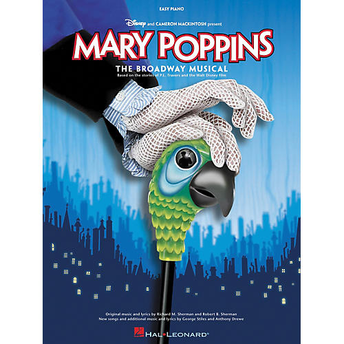 Hal Leonard Mary Poppins The Musical For Easy Piano thumbnail