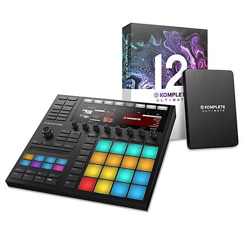 Native Instruments Maschine MK3 with Komplete 12 Ultimate thumbnail