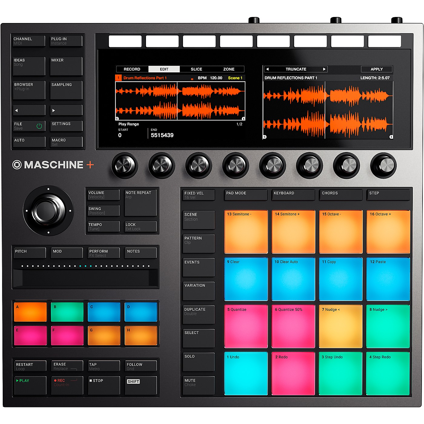 Native Instruments Maschine+ Standalone Groovebox and Sampler thumbnail