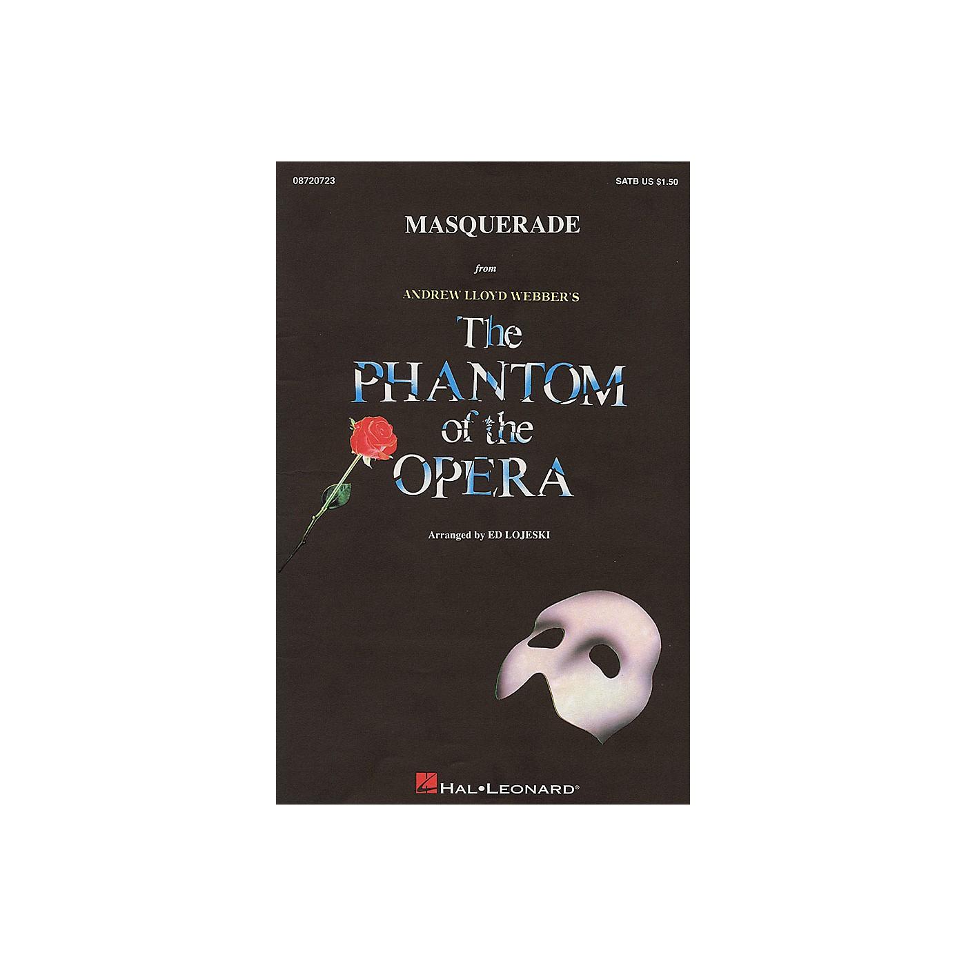 Hal Leonard Masquerade (from The Phantom of the Opera) SAB Arranged by Ed Lojeski thumbnail