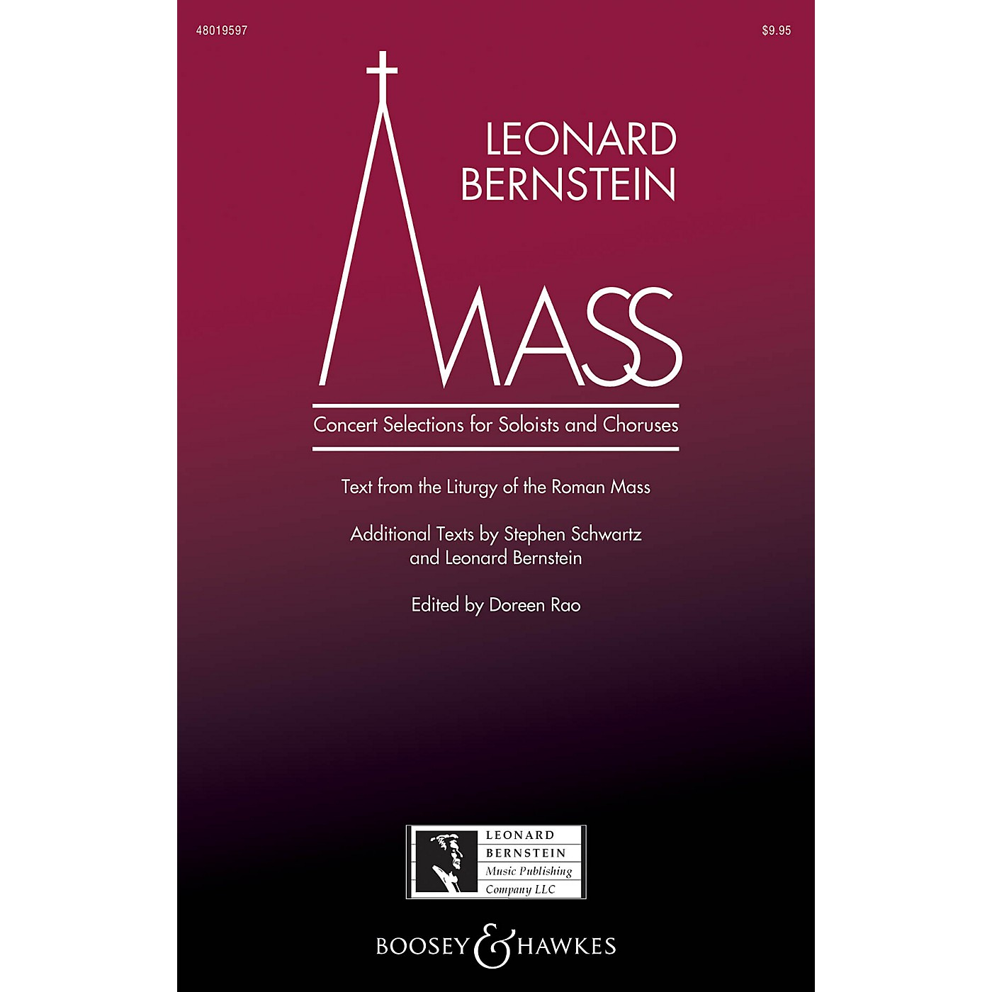 Leonard Bernstein Music Mass (Concert Selections for Soloists and Choruses) SATB Choir/Treble by Bernstein edited by Doreen Rao thumbnail