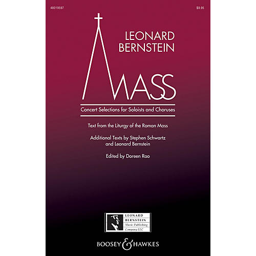 Leonard Bernstein Music Mass Percussion Composed by Leonard Bernstein Edited by Doreen Rao thumbnail