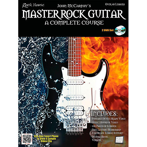 Rock House Master Rock Guitar A Complete Course Book/2-DVD Pack-thumbnail