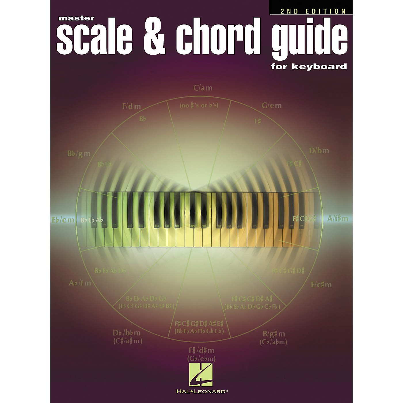 Hal Leonard Master Scale and Chord Guide For Piano - 2nd Edition thumbnail