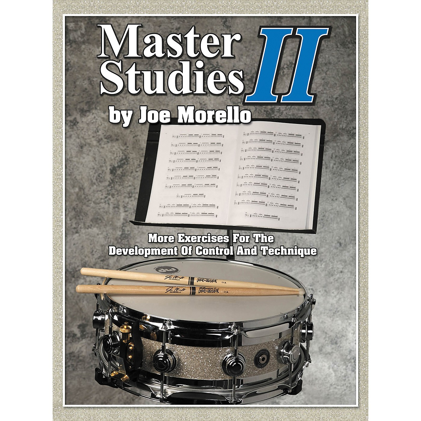 Modern Drummer Master Studies 2 - More Exercises For The Development Of Control And Technique Book thumbnail