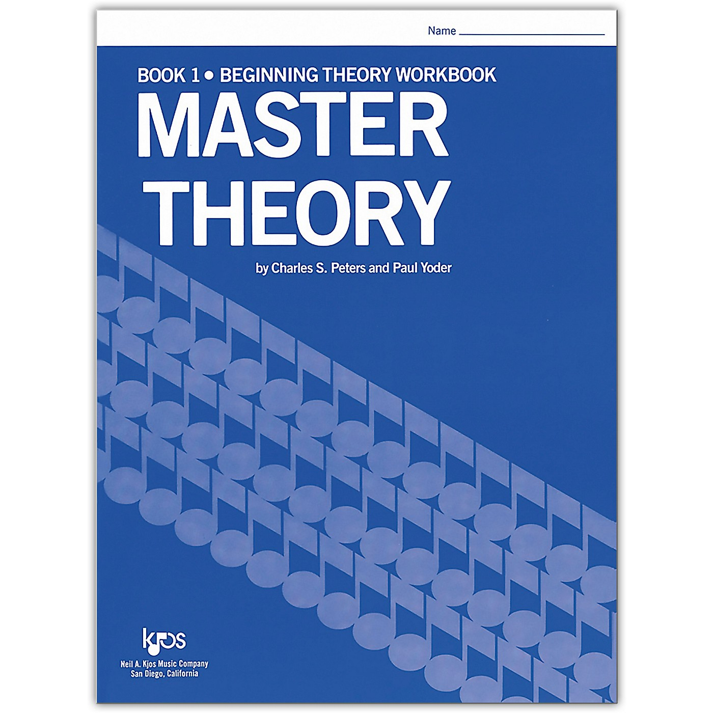 KJOS Master Theory Series Book 1 Beginning Theory thumbnail