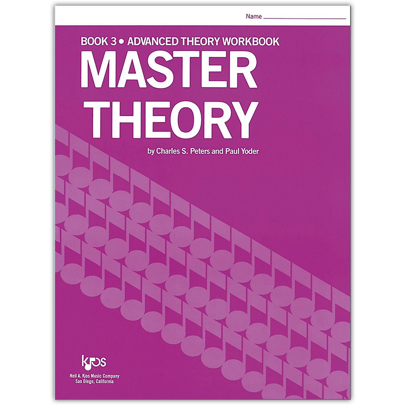 KJOS Master Theory Series Book 3 Advanced Theory thumbnail