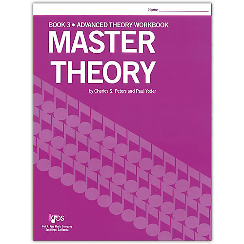 KJOS Master Theory Series Book 3 Advanced Theory thumbnail