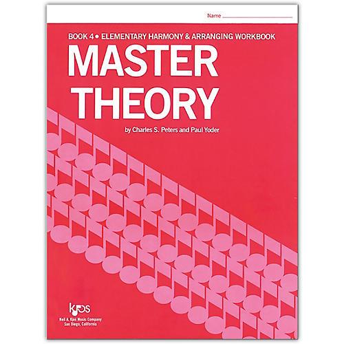 KJOS Master Theory Series Book 4 Elementary Harmony thumbnail