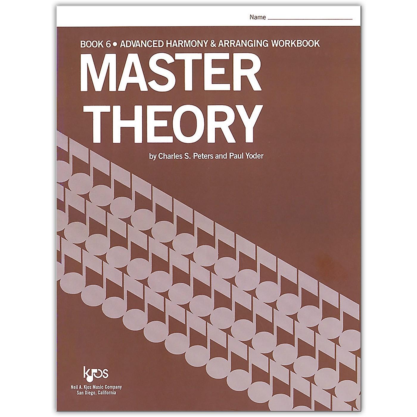 KJOS Master Theory Series Book 6 Advanced Harmony thumbnail