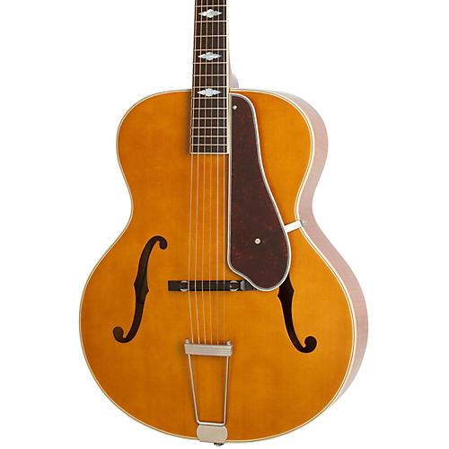 Epiphone Masterbilt Century Collection De Luxe Classic F-Hole Archtop Acoustic-Electric Guitar thumbnail