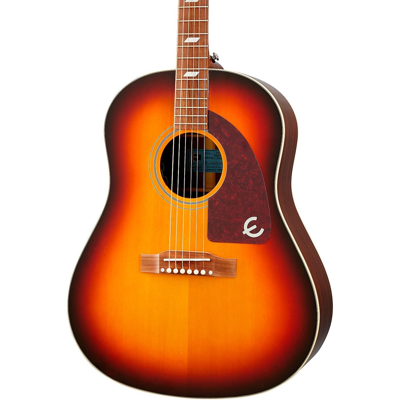 Epiphone Masterbilt Texan Acoustic-Electric Guitar thumbnail