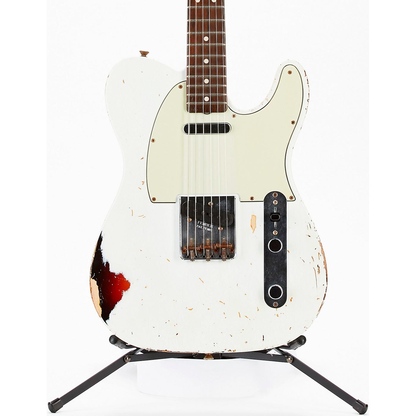 Fender Custom Shop Masterbuilt Dennis Galuszka '60s Telecaster Relic Brazilian Rosewood Neck Electric Guitar thumbnail