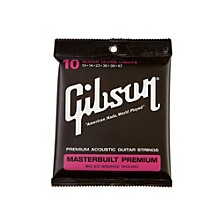 Gibson Masterbuilt Premium 80/20 Bronze Super Ultra Light Acoustic Guitar Strings