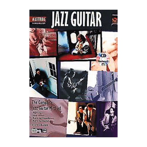 Alfred Mastering Jazz Guitar - Chord/Melody Book/CD thumbnail