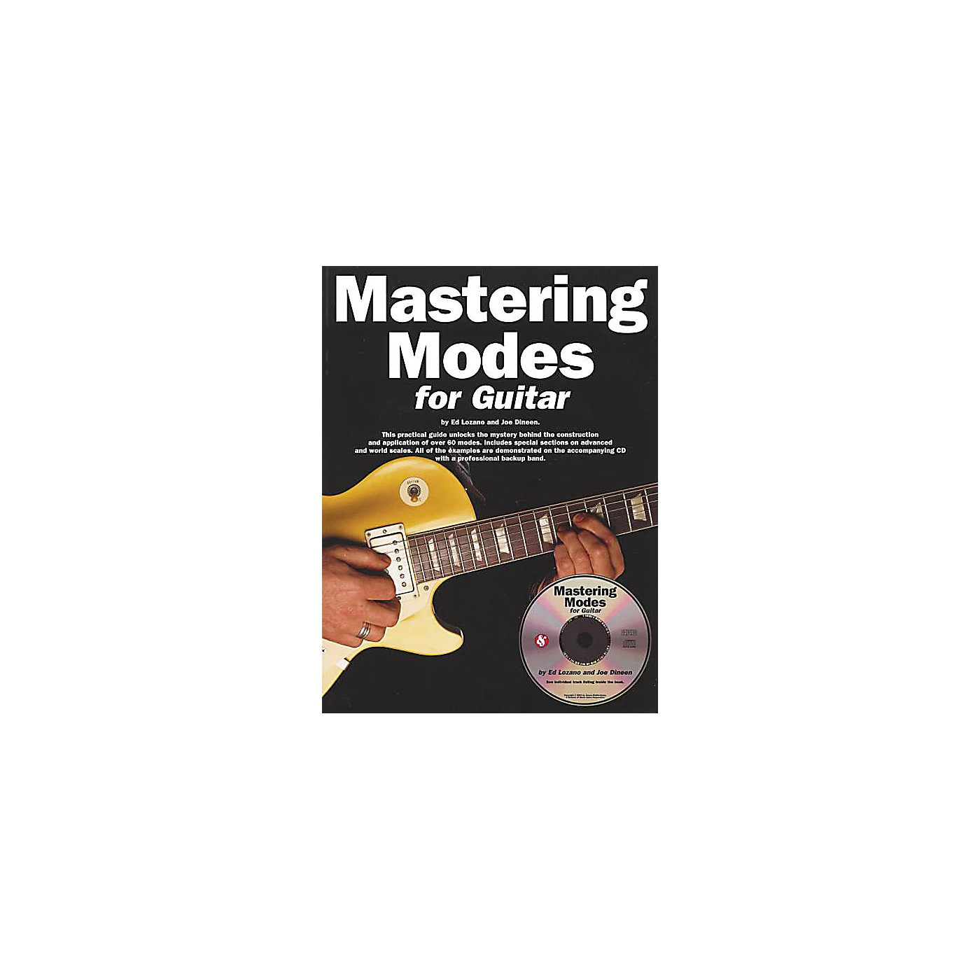 Music Sales Mastering Modes for Guitar Music Sales America Series Softcover with CD Written by Ed Lozano thumbnail