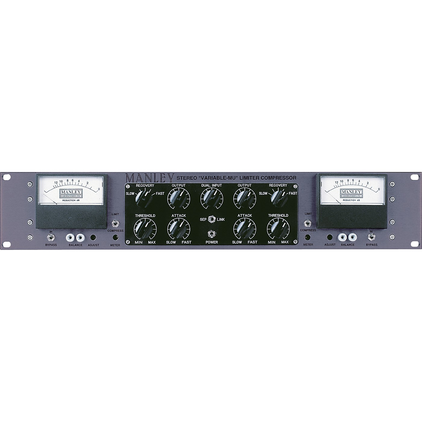 Manley Mastering Stereo Variable Mu Limiter Compressor thumbnail
