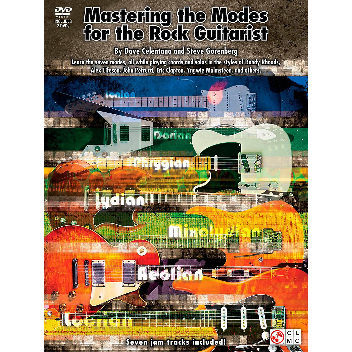 Cherry Lane Mastering The Modes For The Rock Guitarist - Book/2 DVD Pack thumbnail
