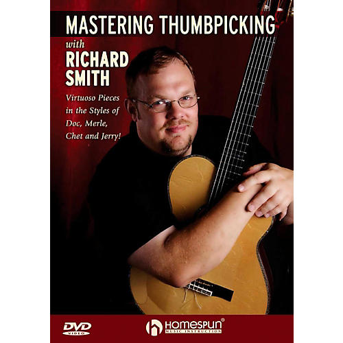 Homespun Mastering Thumbpicking With Richard Smith DVD thumbnail