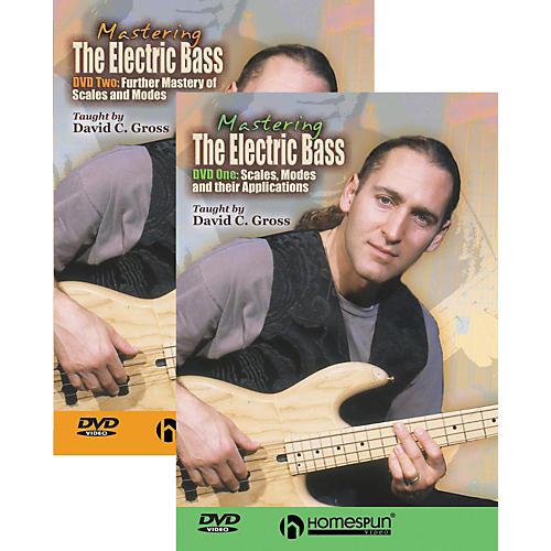 Homespun Mastering the Electric Bass 2-DVD Set thumbnail