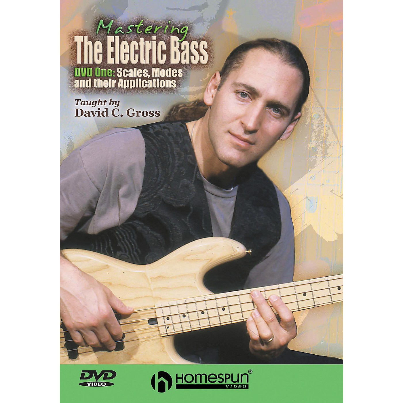 Centerstream Publishing Mastering the Electric Bass: Scales 1 (DVD) thumbnail
