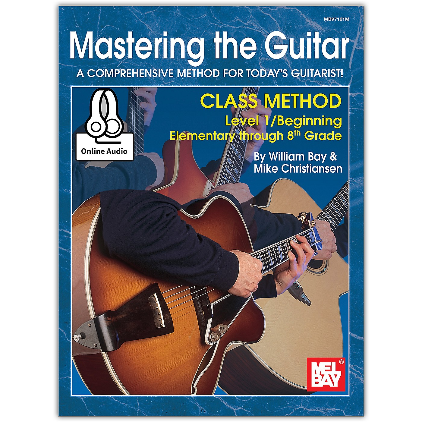 Mel Bay Mastering the Guitar Class Method 1, Elementary to 8th Grade, Book plus Online Audio thumbnail