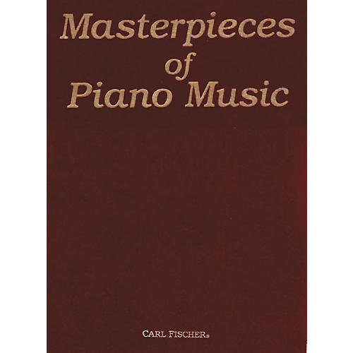 Carl Fischer Masterpieces Of Piano Music thumbnail