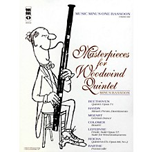 Music Minus One Masterpieces for Woodwind Quintet - Volume 1 Music Minus One Series Softcover with CD Composed by Various