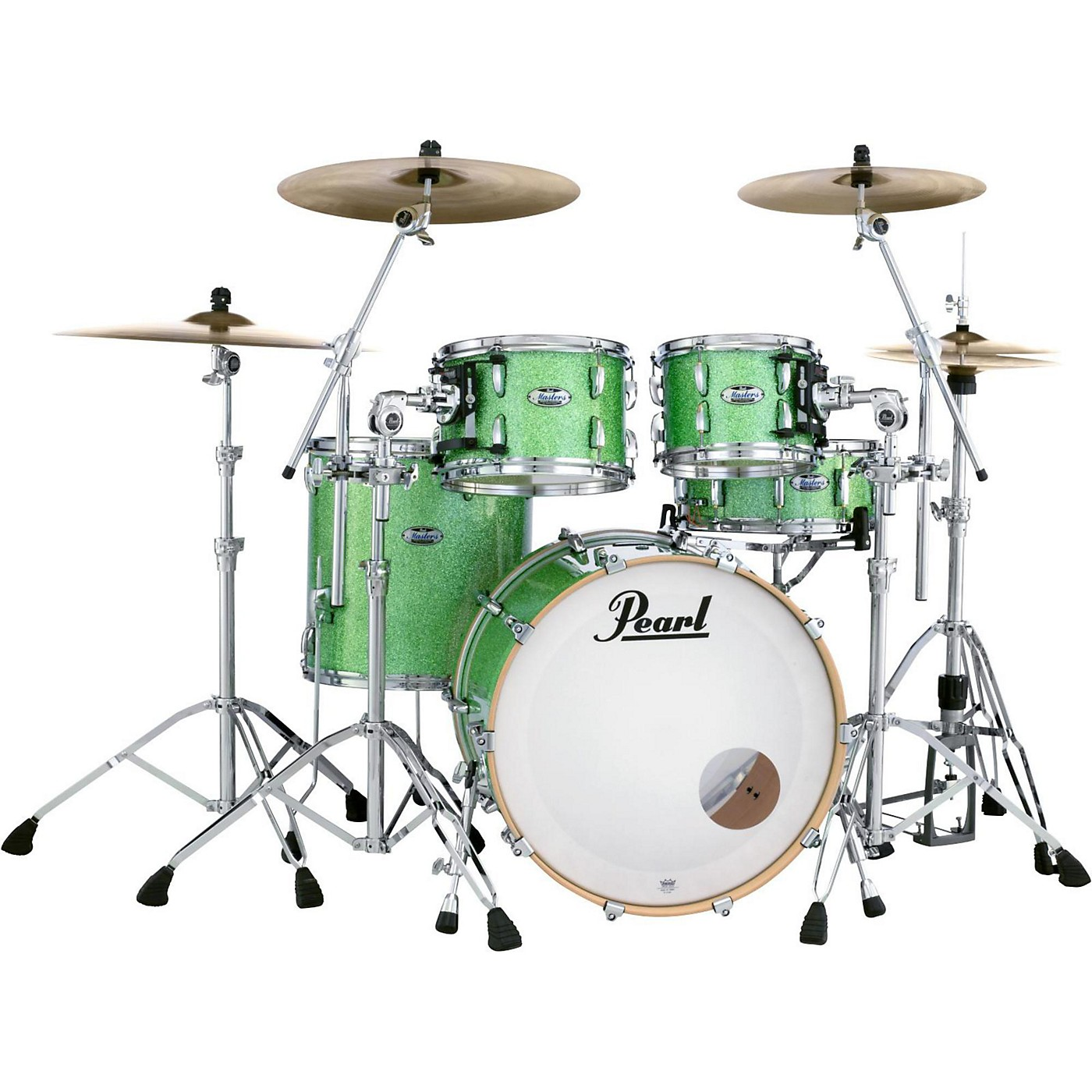 Pearl Masters Maple Complete 4-Piece Shell Pack thumbnail