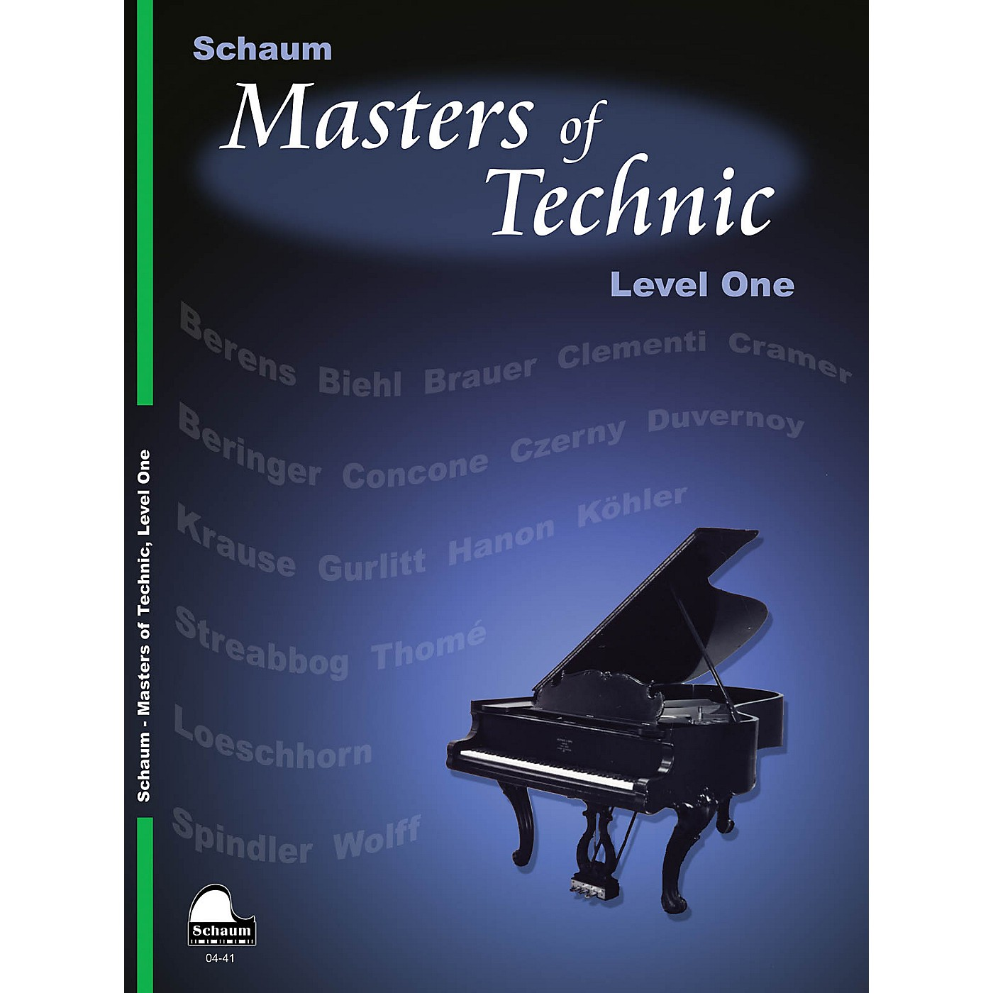 SCHAUM Masters Of Technic, Lev 1 Educational Piano Series Softcover thumbnail