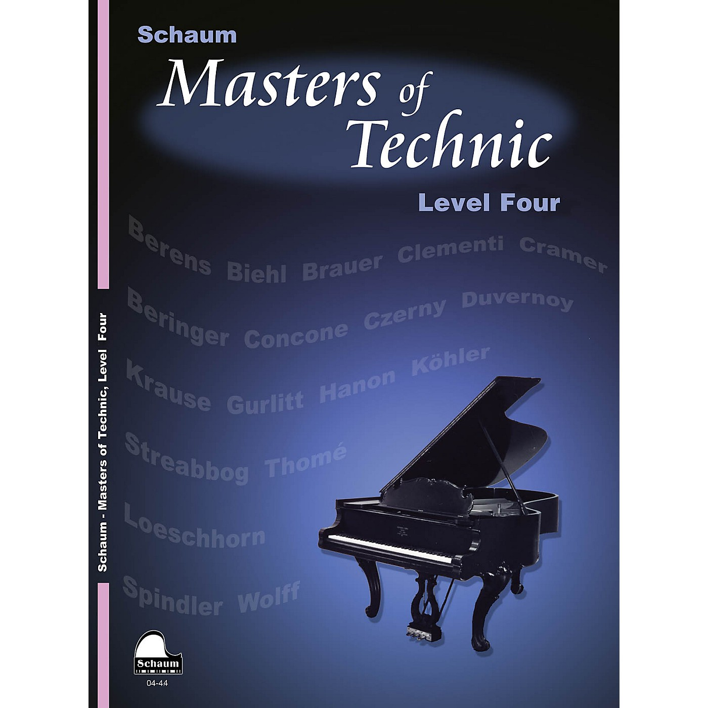 SCHAUM Masters Of Technic, Lev 4 Educational Piano Series Softcover thumbnail