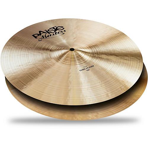 Paiste Masters Thin Hi-Hat Cymbals thumbnail