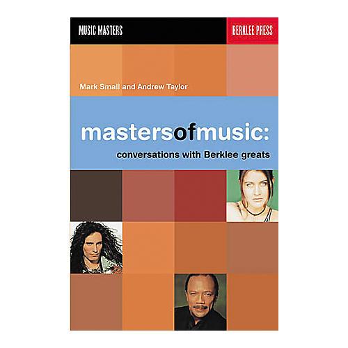 Berklee Press Masters of Music - Conversations with Berklee Greats Book thumbnail