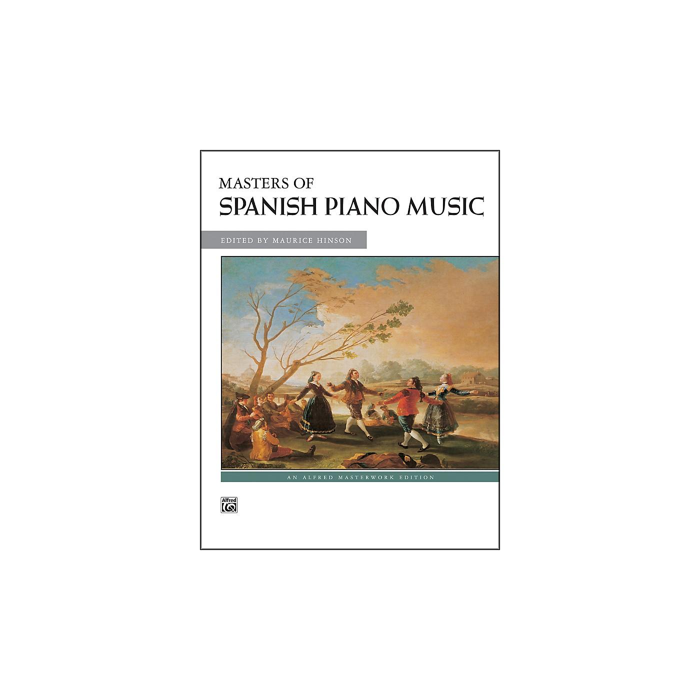 Alfred Masters of Spanish Piano Music thumbnail