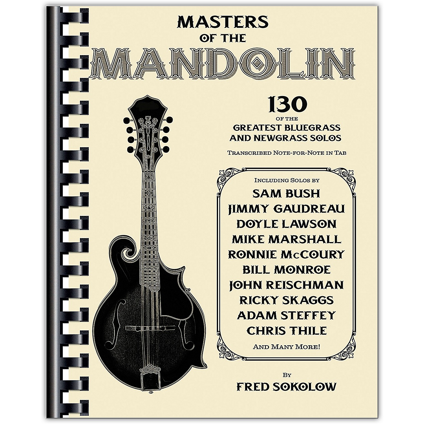 Hal Leonard Masters of the Mandolin - 130 of the Greatest Bluegrass and Newgrass Solos thumbnail