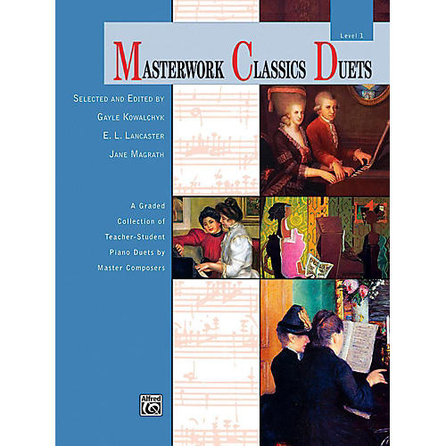 Alfred Masterwork Classics Duets Level 1 Elementary thumbnail