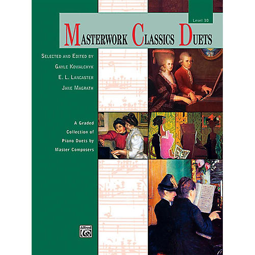 Alfred Masterwork Classics Duets Level 10 Early Advanced / Advanced thumbnail