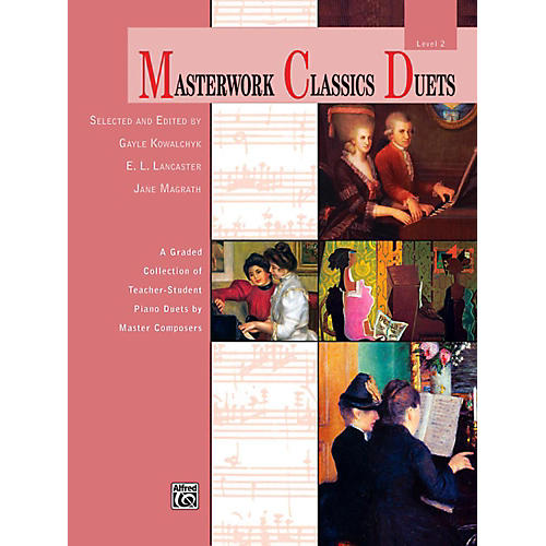 Alfred Masterwork Classics Duets Level 2 Elementary / Late Elementary thumbnail