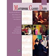Alfred Masterwork Classics Duets Level 5 Intermediate
