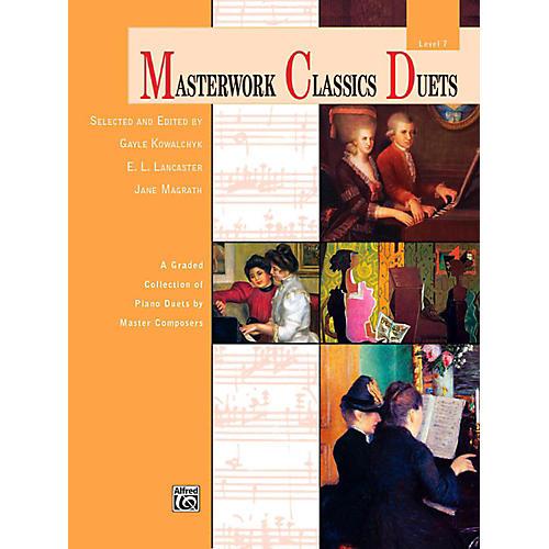 Alfred Masterwork Classics Duets Level 7 Late Intermediate thumbnail