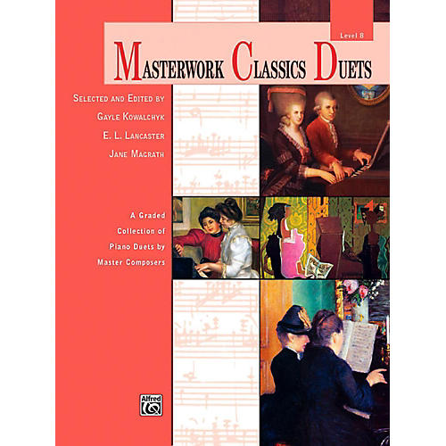 Alfred Masterwork Classics Duets Level 8 Late Intermediate / Early Advanced thumbnail