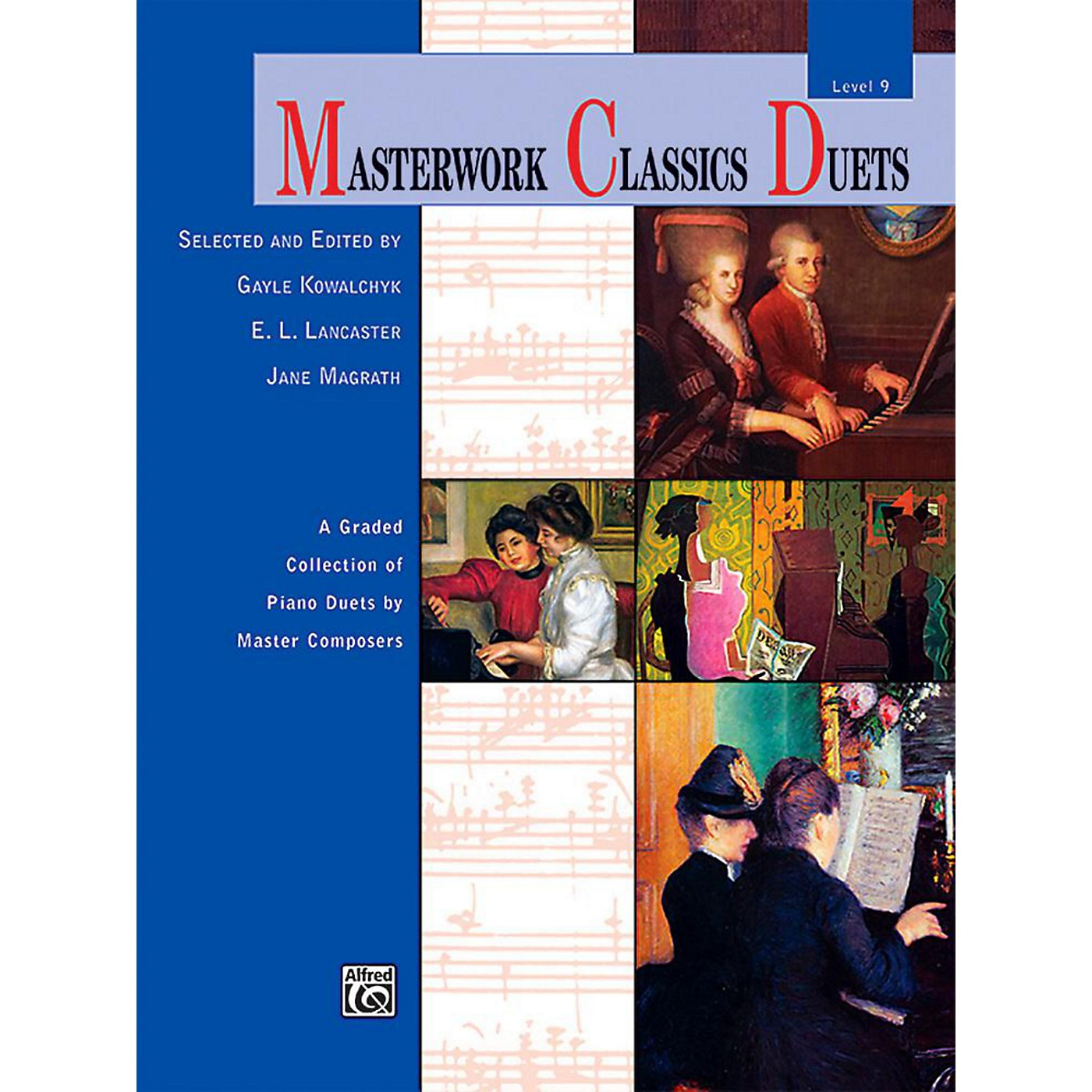 Alfred Masterwork Classics Duets Level 9 Early Advanced thumbnail