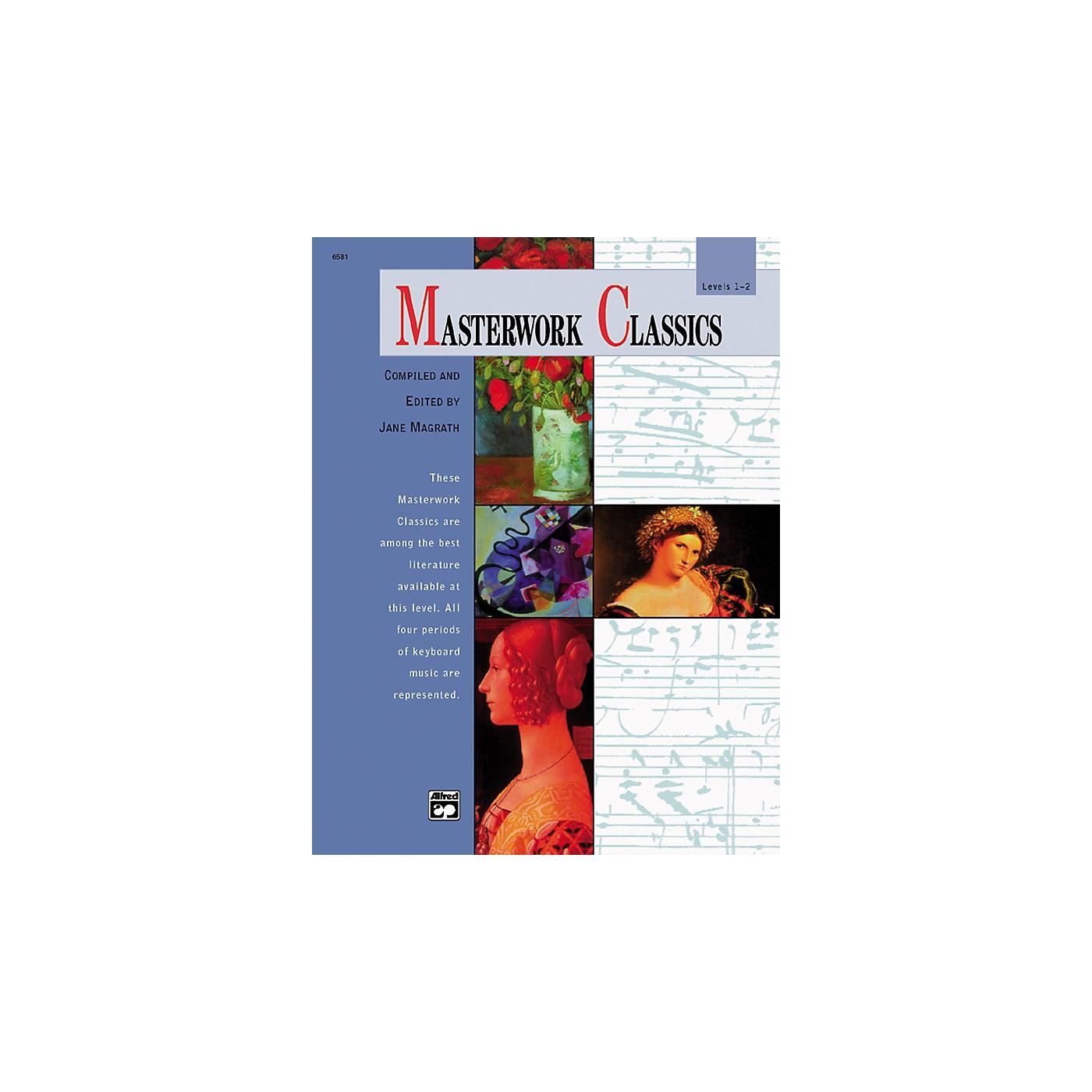 Alfred Masterwork Classics Level 1 & 2 Book & CD thumbnail