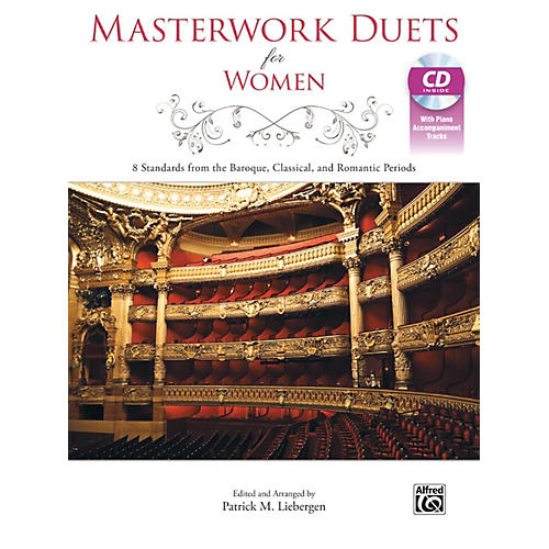Alfred Masterwork Duets for Women Book & Acc. CD thumbnail