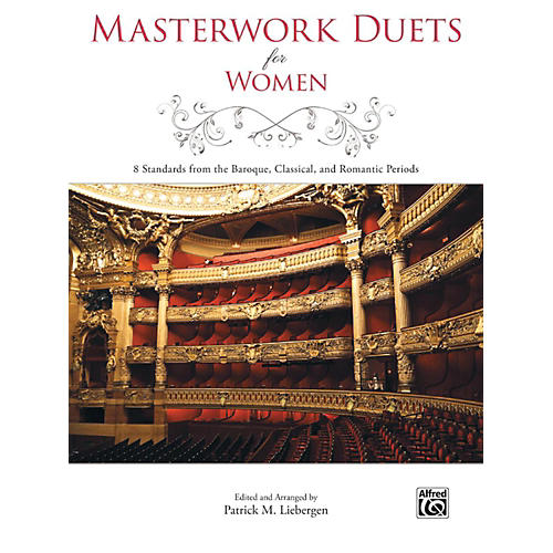 Alfred Masterwork Duets for Women Book thumbnail