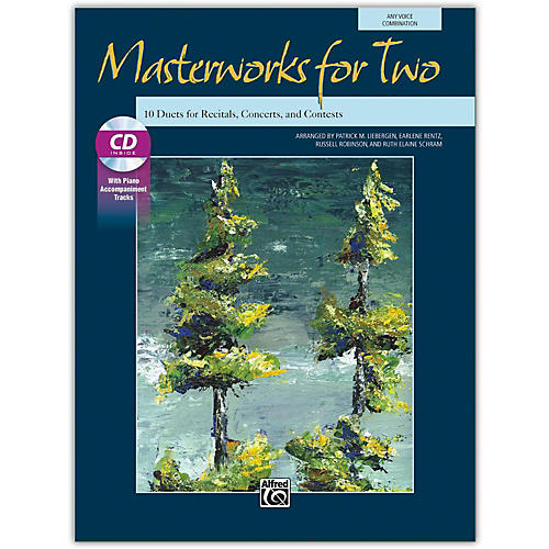 Alfred Masterworks for Two Book & Acc. CD Junior High, High School & Adult thumbnail
