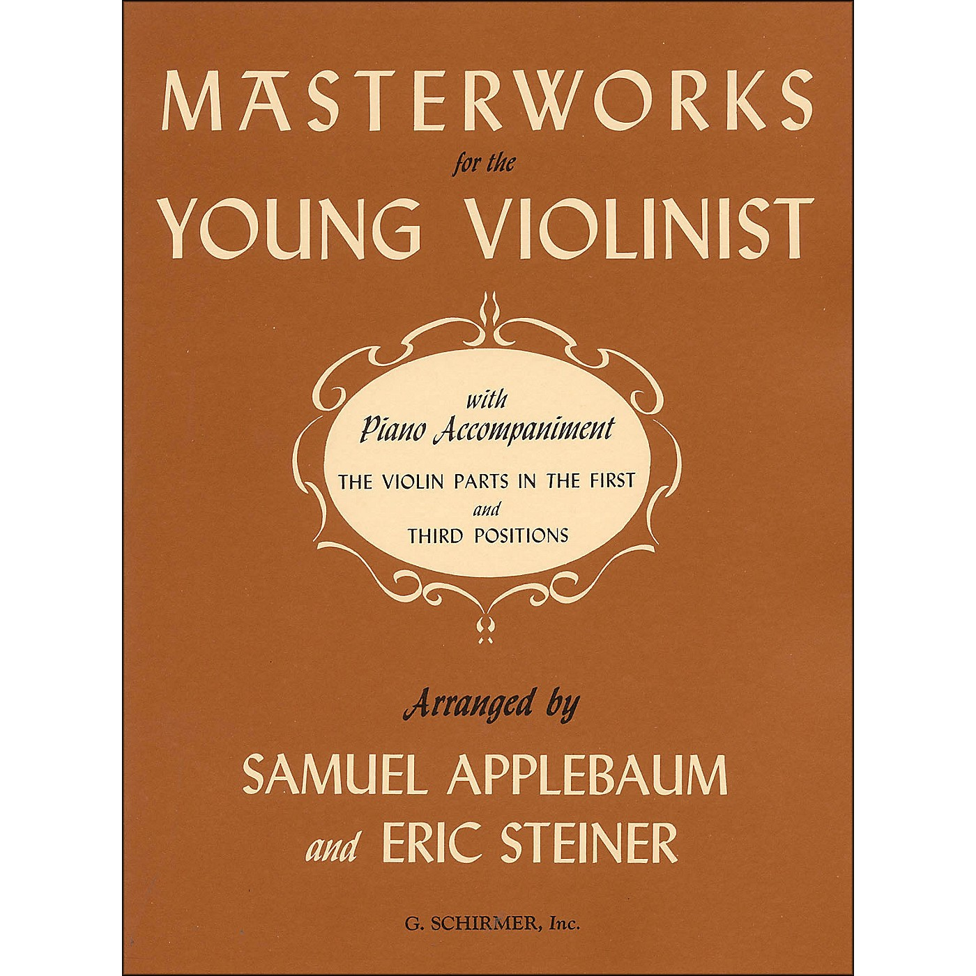 G. Schirmer Masterworks for Young Violinist with Piano Accompaniment thumbnail