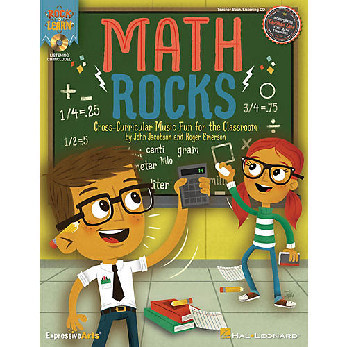 Hal Leonard Math Rocks (Cross-Curricular Music Fun for the Classroom) CLASSRM KIT Composed by John Jacobson thumbnail