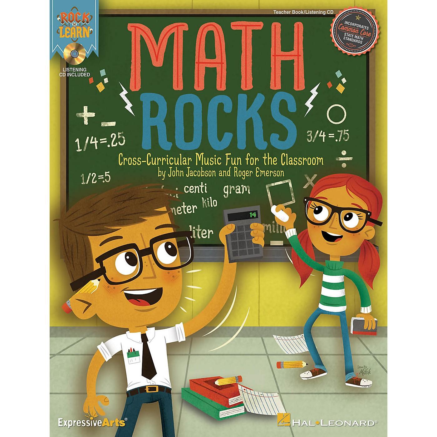 Hal Leonard Math Rocks (Cross-Curricular Music Fun for the Classroom) Performance/Accompaniment CD by John Jacobson thumbnail