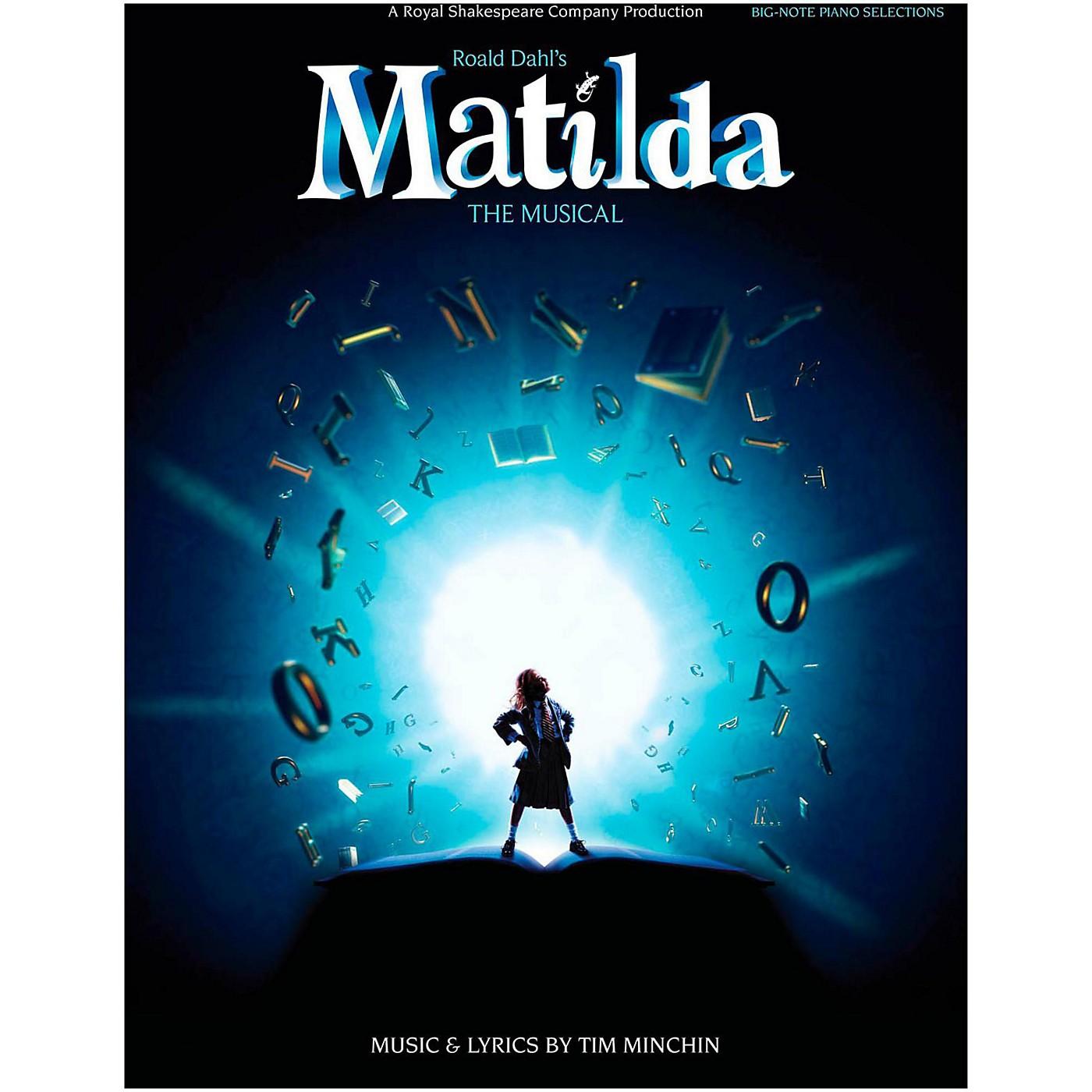 Hal Leonard Matilda - The Musical for Big Note Piano thumbnail